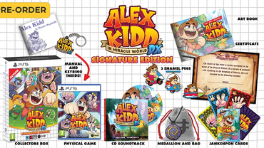 Alex Kidd in Miracle World DX - Signature Edition PS5